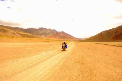 Bike Riding In Leh