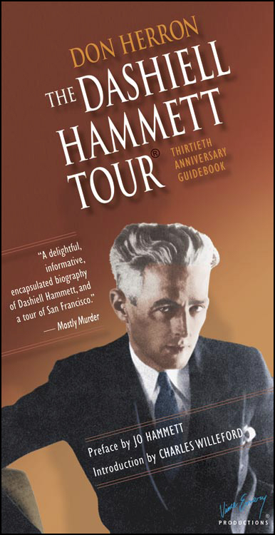 The Dashiell Hammett Tour --- 30th Anniversary cover