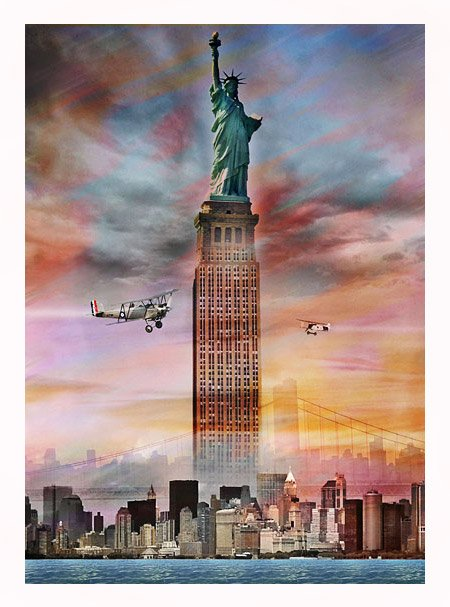 """""""Empire State Liberty"""" by Donibane"""