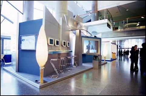 Diseño de Stand para la Diputación Foral de Bizkaia trabajando para Lantik
