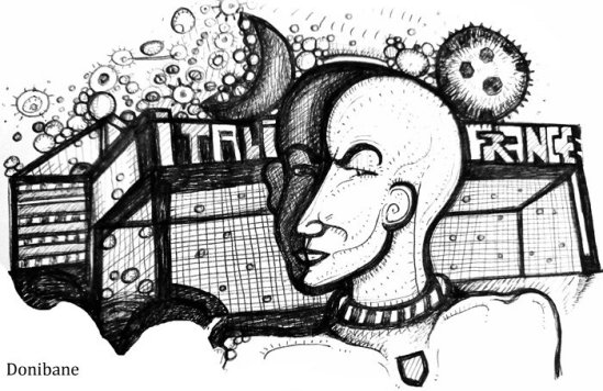 """""""El cabezazo de Zidane"""", por Donibane"""