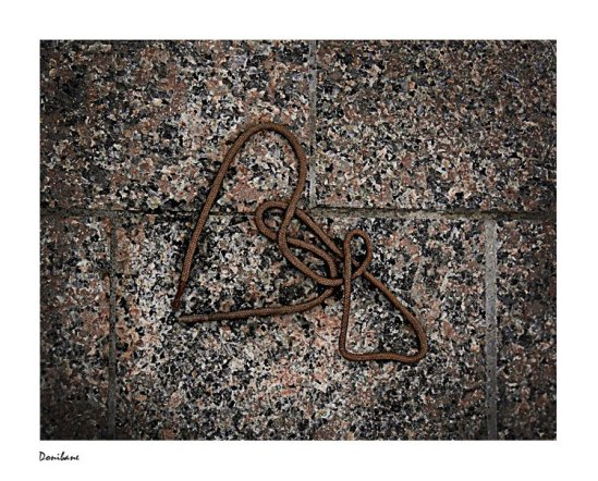 Love is all around in Bilbao, Bizkaia (Basque Country)
