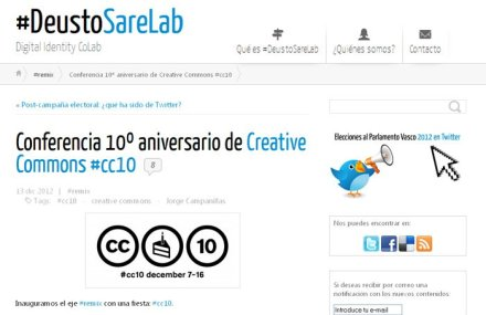 Conferencia 10º aniversario de Creative Commons