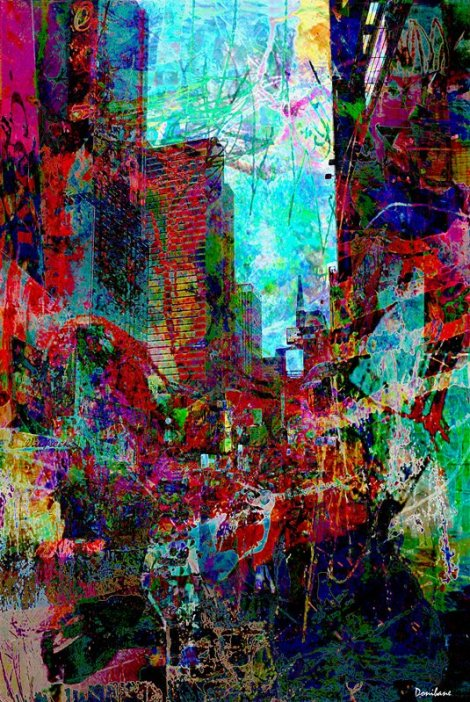 New York Fauvist by Donibane