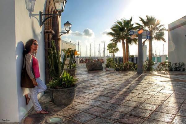 Atardecer en Lanzarote, por Donibane