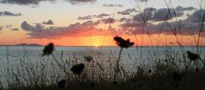 Vistas de la costa de Bizkaia por Donibane