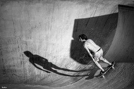 Skater en Arrigunaga por Donibane