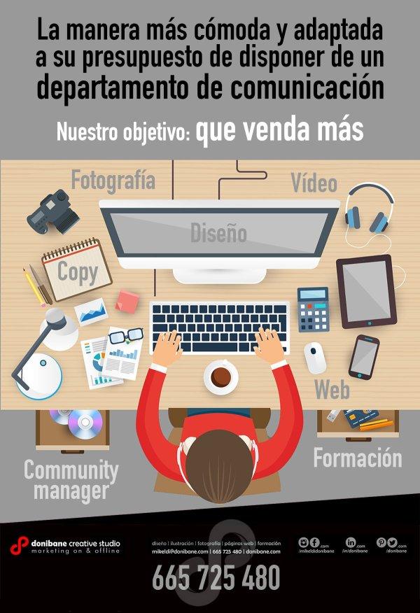 Servicios de Comunicación de Donibane Creative Studio en Bilbao