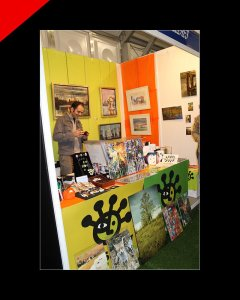 Artshow collective branding by Donibane