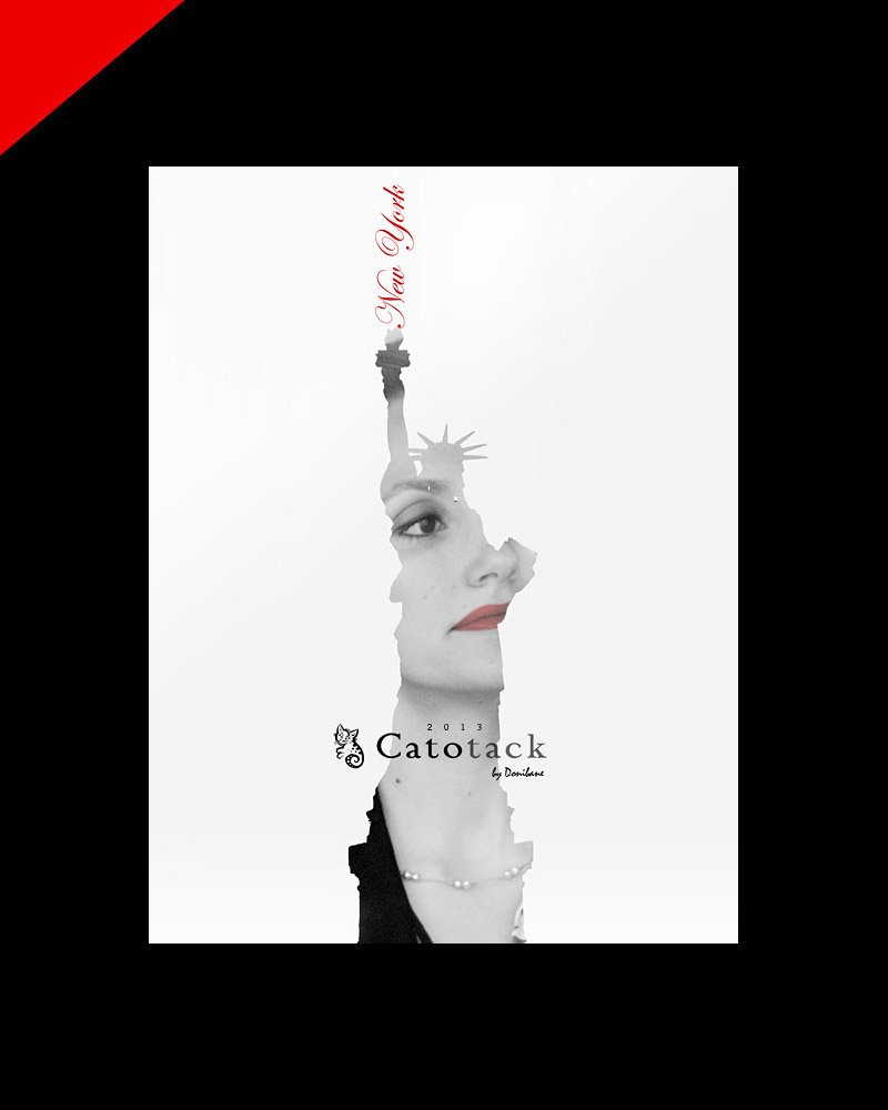Catotack fashion design and branding by Donibane