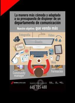 Cartel publicidad servicios de Donibane