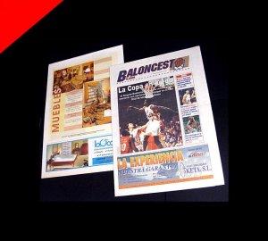 Diagramación de periódicos para El Correo por Donibane