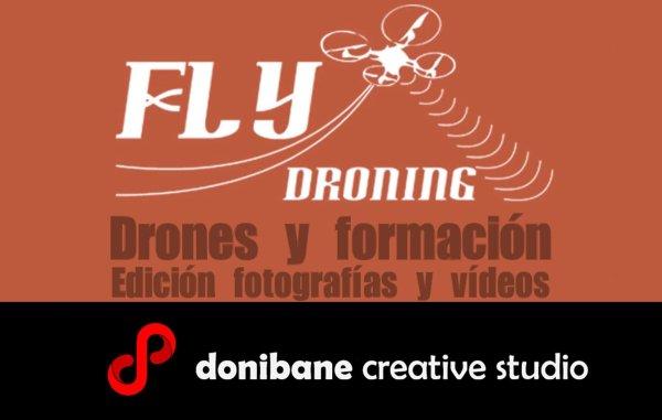 Drones, formación, fotografía y vídeo con flydroning y donibane