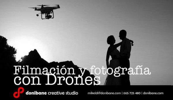 Filmación y fotografías con drones en el País Vasco