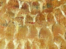 """Echinus"" - DETAIL 3, oil on canvas - 44 x 62 cm, 2007"