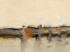 """Oryahovo"" - DETAIL 3, oil on canvas - 44 x 62 cm, 2003"