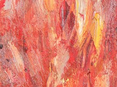 """""""Peach"""" - DETAIL 1, oil on canvas - 25 x 35 cm, 2007"""