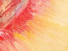 """""""Peach"""" - DETAIL 2, oil on canvas - 25 x 35 cm, 2007"""