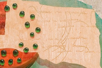 """Still-Life I"" - DETAIL 2, oil on canvas - 63 х 63 cm, 2003"