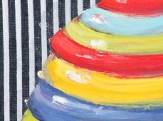 """""""Sugar-Bowl"""" - DETAIL 1, oil on canvas - 25 x 35 cm, 2007"""