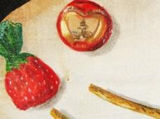 """""""Sugar"""" - DETAIL 3, oil on canvas - 60 x 50 cm, 2010"""