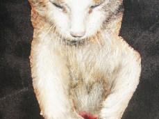 """""""Sugar"""" - DETAIL 5, oil on canvas - 60 x 50 cm, 2010"""
