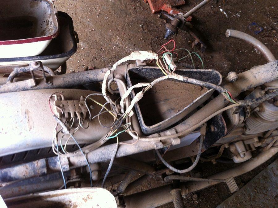 Restauración sistema eléctrico Sanglas