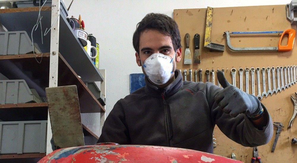 Cómo pintar una moto