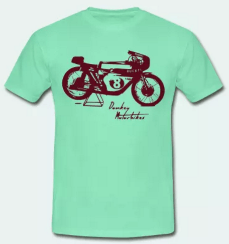 Camiseta Ducati Cafe Racer
