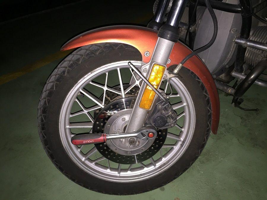 Cambiar pastillas moto