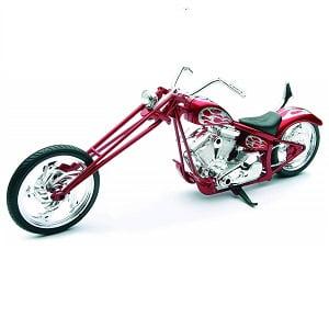 Miniatura moto Custom Chopper
