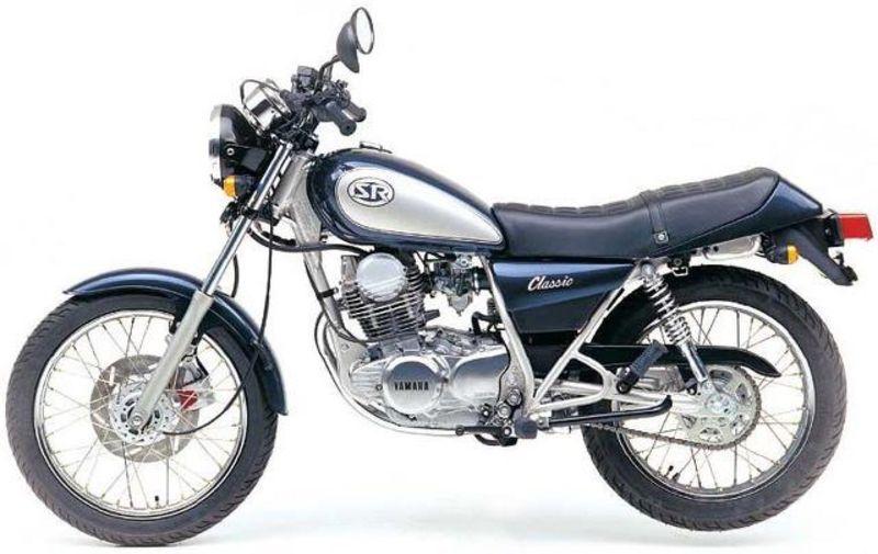 Yamaha-sr-250 restaurar
