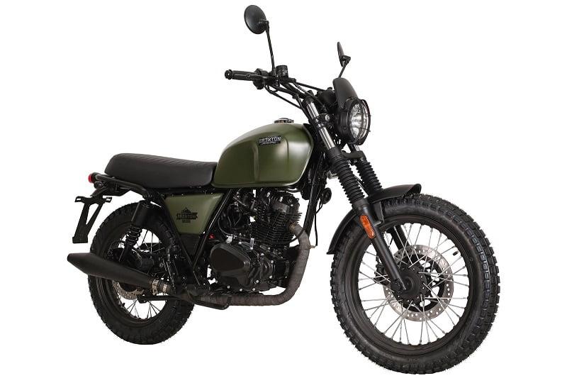 Brixton Felsberg 125. moto scrambler de 125 cc