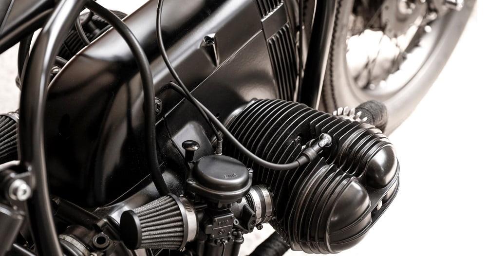 Filtros de aire en una BMW R45