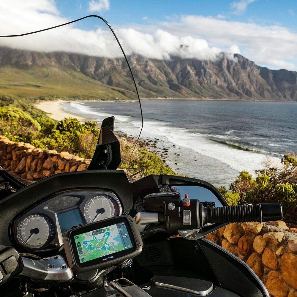 Anclaje para GPS moto