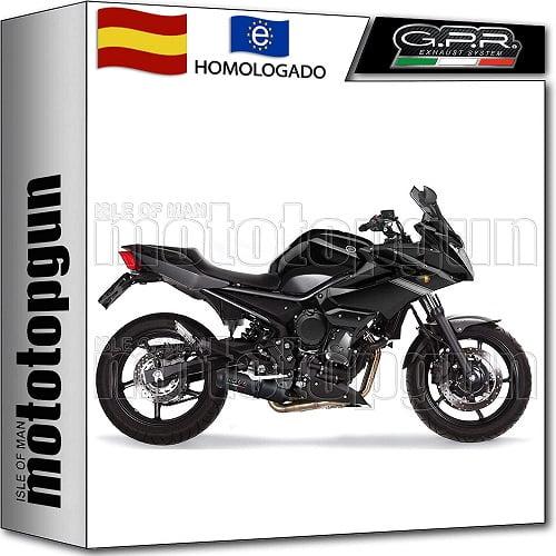 Escape homologado para Yamaha XJ600