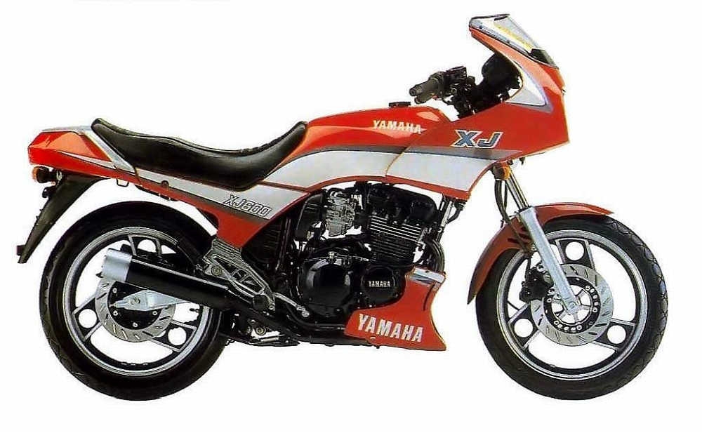 Yamaha XJ600 de 1984