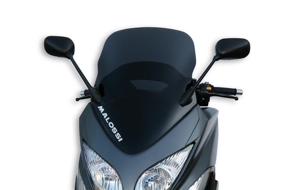 Retrovisores en cúpula moto