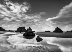 20141057D Skyscape, Bandon Beach, OR 2014