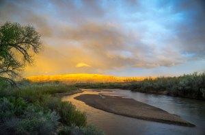 20150727DC Sand Island Sunset, UT 2015