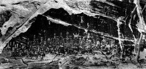 95122 Anasazi Rock Art, UT 1995