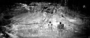 96081 Anasazi Rock Art, UT, 1996