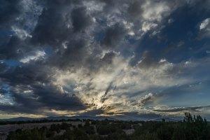 20180629DC Blue Clouds, NM 2018