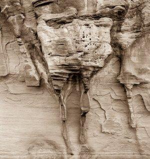 2011020DF Cottonwood Canyon Wall, Utah 2011