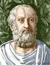 Plato (427-347 BC), Ancient Greek philosopher. Plato's spirit of rational inquiry led to today's scientific method. His writings shaped and continue to have a profound influence on Western thought. He was a pupil of Socrates, founded the Academy in Athens, and taught Aristotle. Artwork, after an ancient bust, from the 19th century book Vies des Savants Illustres.