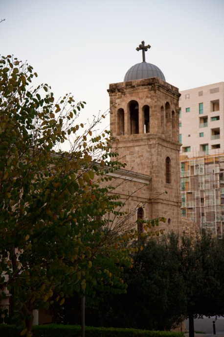 Mohammad Al-Amin Mosque St George Church Orthodox Don Michael Hudson, PhD Beirut, Lebanon