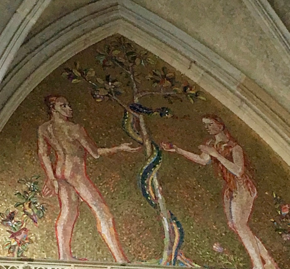 Adam and Eve, St Vitus Cathedral