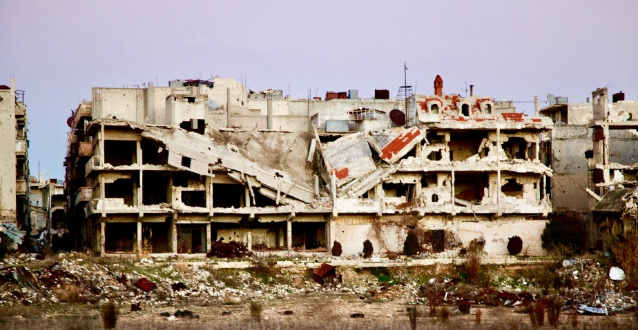 Homs, Syria: January 2017