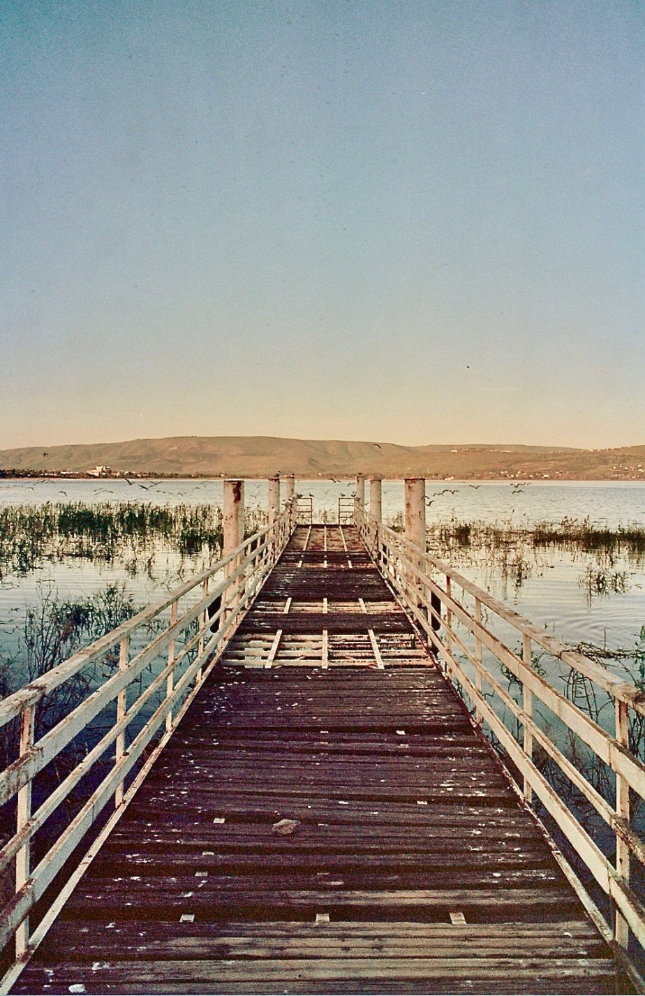 Sea of Galilee Ektachrome 100