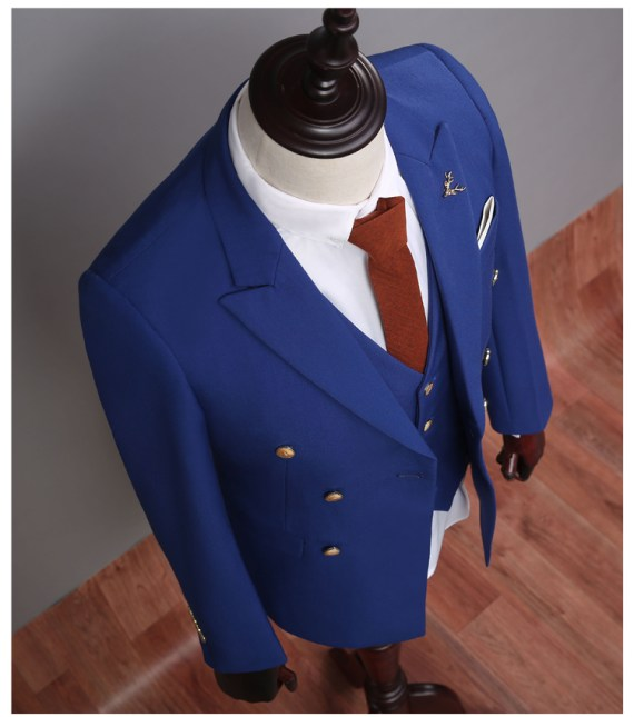 Double-Breasted Formal Suit